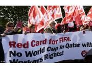 Åpent møte om fotball-vm i Qatar - Hvor mange flere arbeidere må dø?